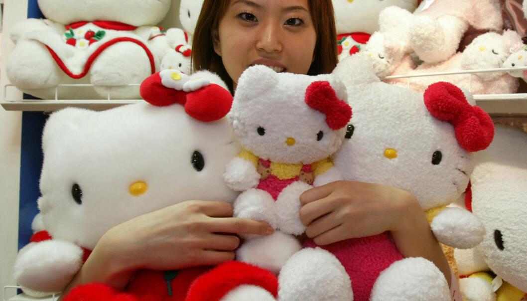Hello Kitty er kanskje den figuren fra kawaii-kulturen vi kjenner til best her i Norge. Men det er bare en liten del av den såkalte søthetskulturen i Japan.  (Foto: Kimimasa Mayama / Reuters / NTB Scanpix)