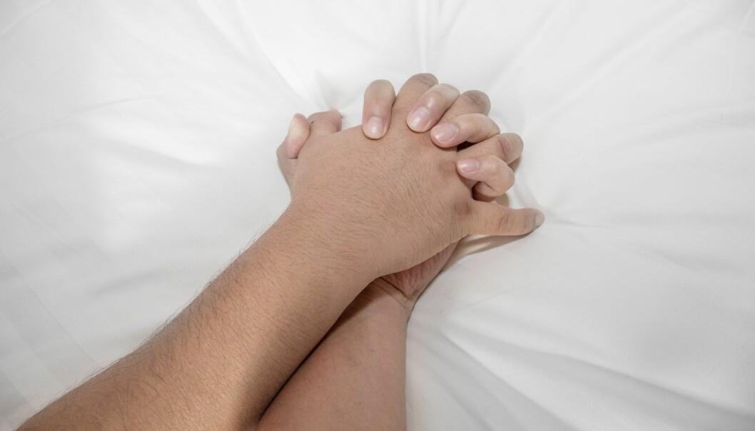 Mannens orgasme har en enkel fysisk funksjon – den sørger for å sprute sædcellene inn i hunnen, og er følgelig helt nødvendig for befruktningen. Men kvinners orgasme? Hva i all verden skal vi med den? (Illustrasjonsfoto: charnsitr, Shutterstock, NTB scanpix)