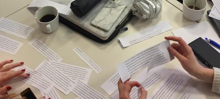 Papir, saks og forskningsformidling