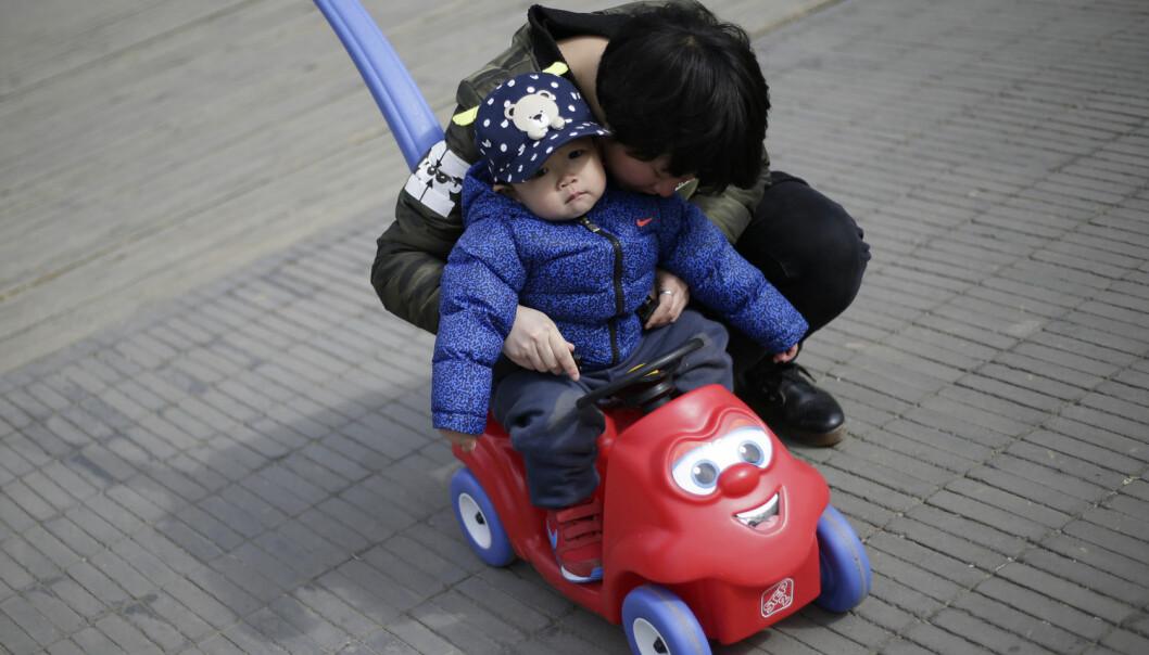 Om far er misfornøyd med barnets kjønn, planlegger mor oftere å få et barn til selv om hun ikke har lyst til det. (Illustrasjonsfoto: Jason Lee/Reuters/NTB scanpix)