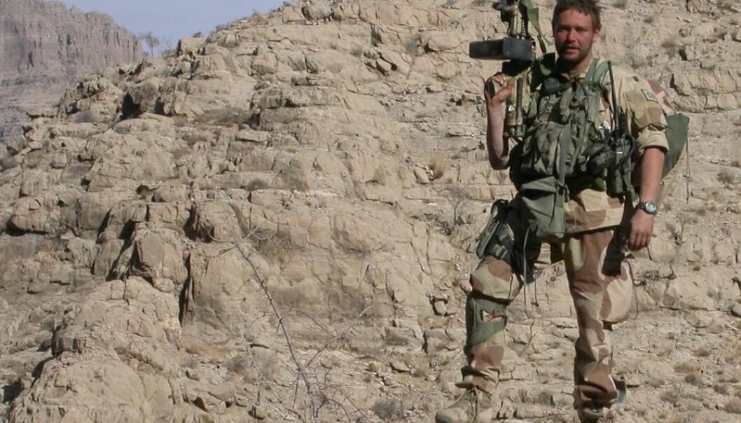 Kenneth Bjerkelund er Afghanistan-veteran. Han har selv ikke kjent på misnøye overfor norske myndigheter men han vet at mange føler seg sviktet.  (Foto: Privat)