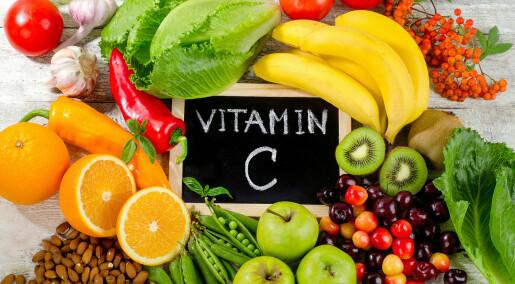C-vitamin hjelper neppe mot forkjølelse