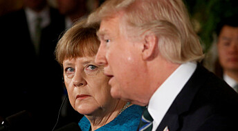 Tyskere synes forholdet til USA er dårlig