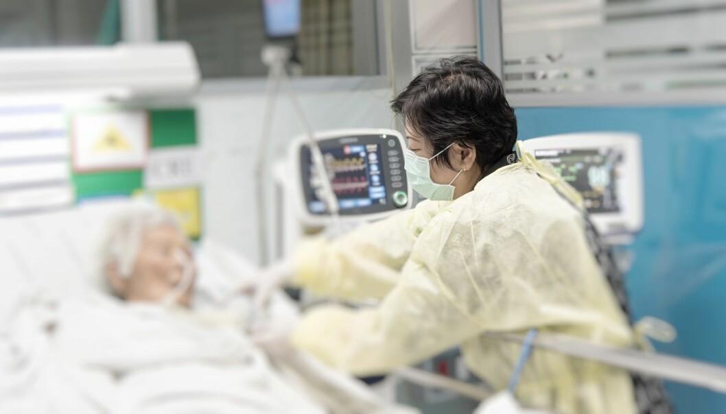 Personer kan være bærere av VRE-bakterier, altså de har det i tarmen, uten å noen sinne få en infeksjon. De som får en VRE-infeksjon, er ofte syke fra før, med dårlig immunforsvar, og det må flere forhold til for at en infeksjons skal kunne oppstå.  (Illustrasjonsfoto: PongMoji / Shutterstock / NTB scanpix)