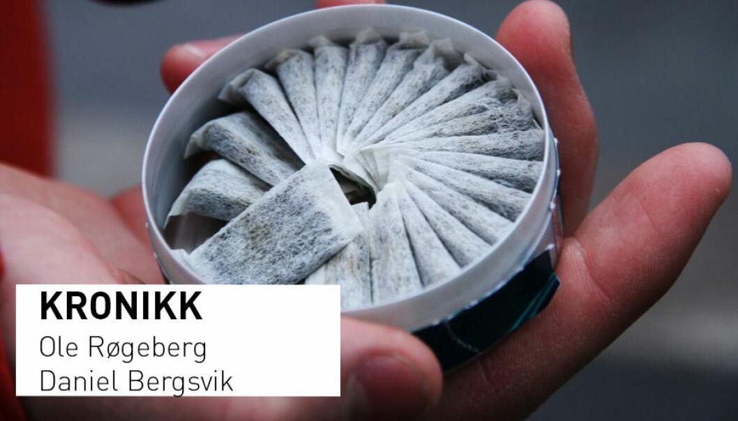 - Disse resultatene er alvorlige, da de tyder på at norske myndigheters informasjon om snus forverrer folks feiloppfatninger når det gjelder dødsrisiko, skriver forskerne.  (Illustrasjonsfoto: Microstock)