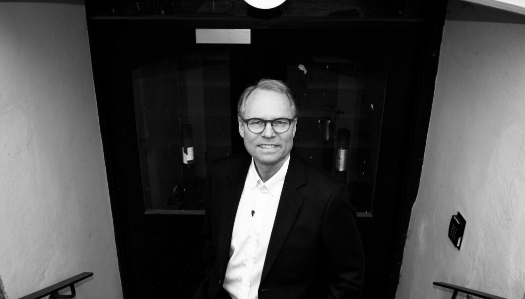 Hans Petter Gravers prosjekt tar for seg grunnleggende spørsmål om vilkårene for rettssikkerhet under autoritære regimer.  (Foto: Ola Sæther)