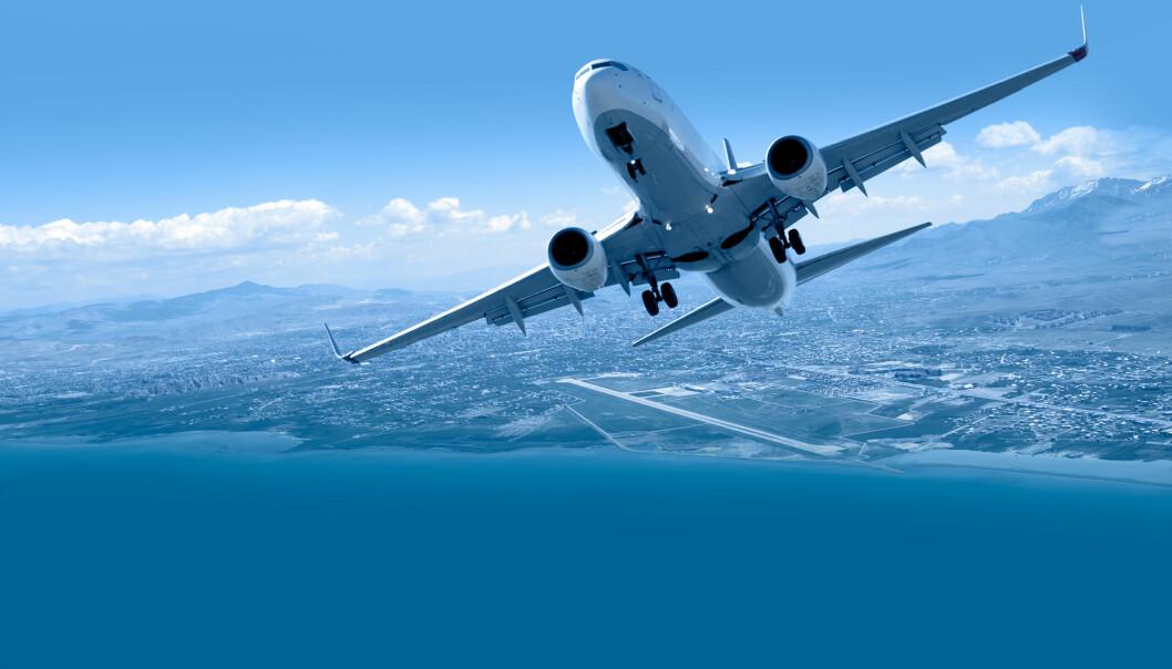 Insekt som limer seg fast til fly gir friksjon og fører til økt forbruk av drivstoff. (Foto: Shutterstock / NTB Scanpix)