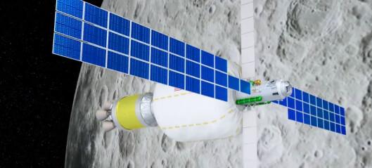 Oppblåsbar rommodul planlagt i bane rundt Månen