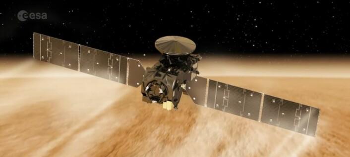 Europeisk romsonde snart klar for å snuse opp metanet på Mars
