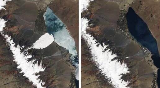 Hvordan kan isbreer kollapse uten forvarsel?