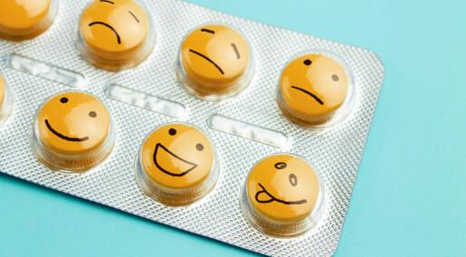 Mener ny studie fjerner tvil: Antidepressiva bedre enn placebo