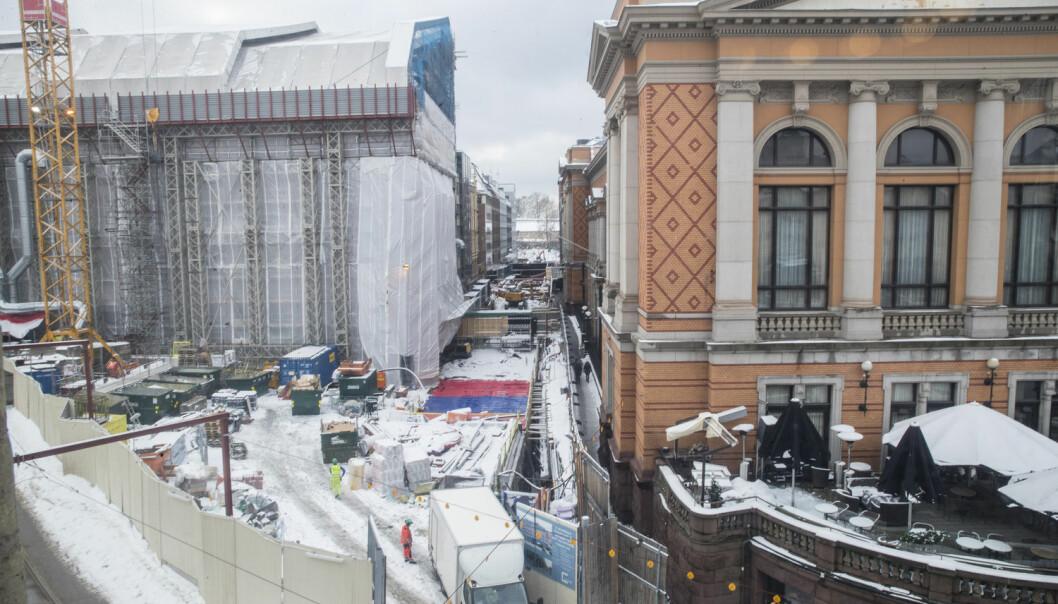 I 2014 var prislappen på Stortingets byggeprosjekt 1,1 milliarder kroner. I februar 2018 har det økt til hele 2,3 milliarder. Hvordan kunne det skje? (Foto: Vidar Ruud / NTB scanpix)