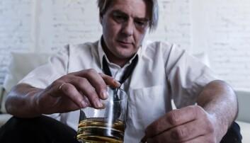 Høyt alkoholforbruk er den viktitgste risikofaktoren for å få demens, mener forskere. Særlig det som kalles tidlig demens, det vil si før fylte 65 år.  (Foto: Shutterstock, NTB scanpix)