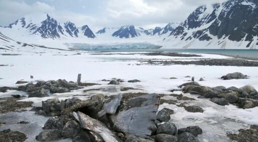 Når permafrosten smelter i Arktis, forsvinner kulturminnene