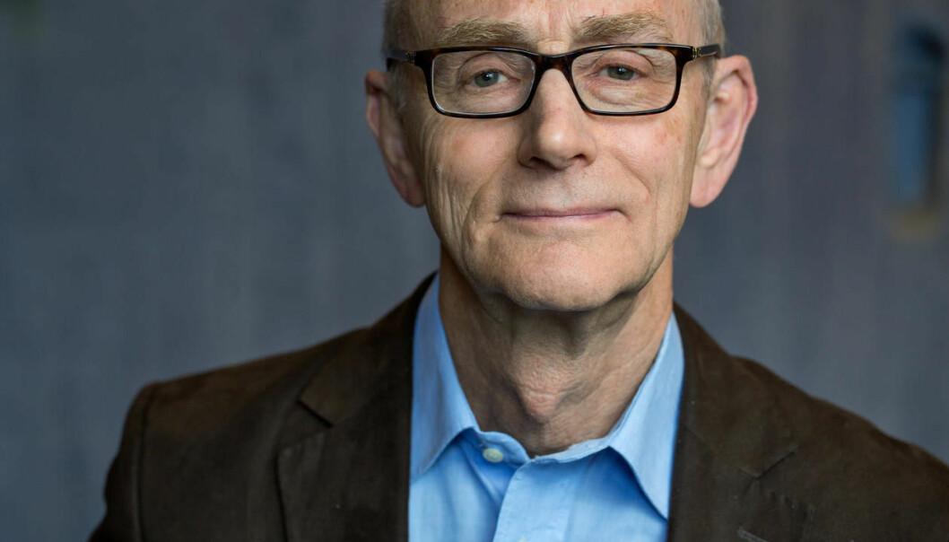Jusprofessor Jan Fridthjof Bernt, Universitetet i Bergen. (Foto: Eivind Senneset / Universitetet i Bergen)
