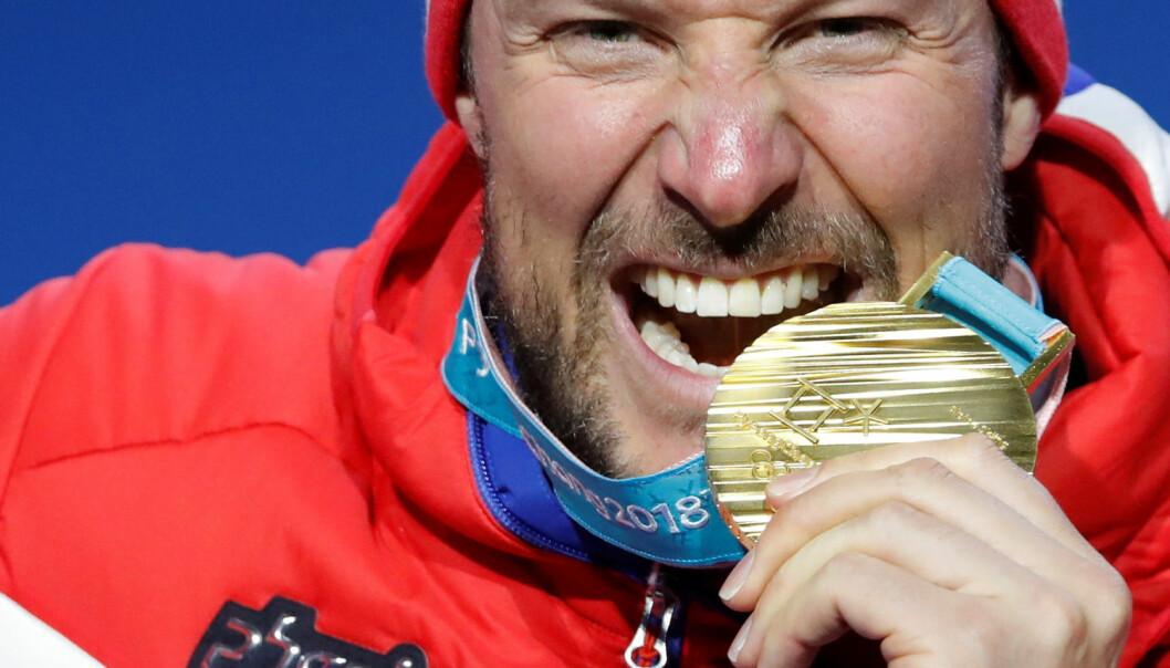 - Bak det historiske OL-gullet til Aksel Lund Svindal ligger ikke bare flere årsverk med hardt arbeid for utøverne, men også for et helt team av trenere, analytikere og rådgivere. Ved å benytte satellittnavigasjonssignaler og annen teknologi har alpinlandslaget blitt verdensledende, skriver artikkelforfatteren. (Foto: Eric Gaillard / Reuters / NTB scanpix)