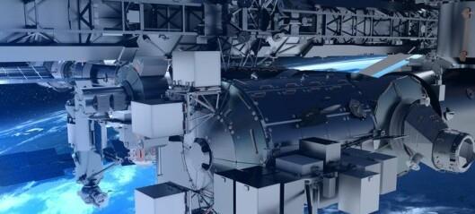 Billigere, raskere og enklere å få forsøk til romstasjonen