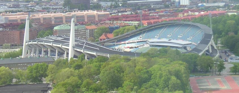 Etter konserten i 1985 måtte Nye Ullevi utbedres for flerfoldige millioner kroner. (Foto: Lennart Guldbrandsson / Wikimedia Commons)