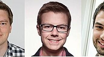 Tre yngre norske forskere får utmerkelse