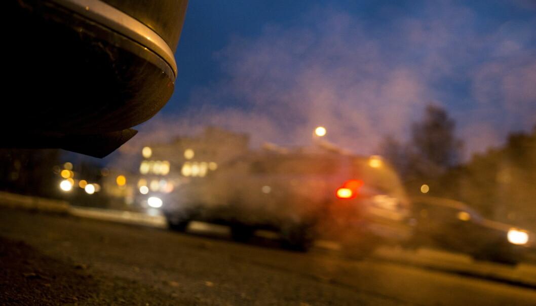 Eksos fra biler er den viktigste grunnen til økte NO2-utslipp. (Foto: Håkon Mosvold Larsen, NTB scanpix)