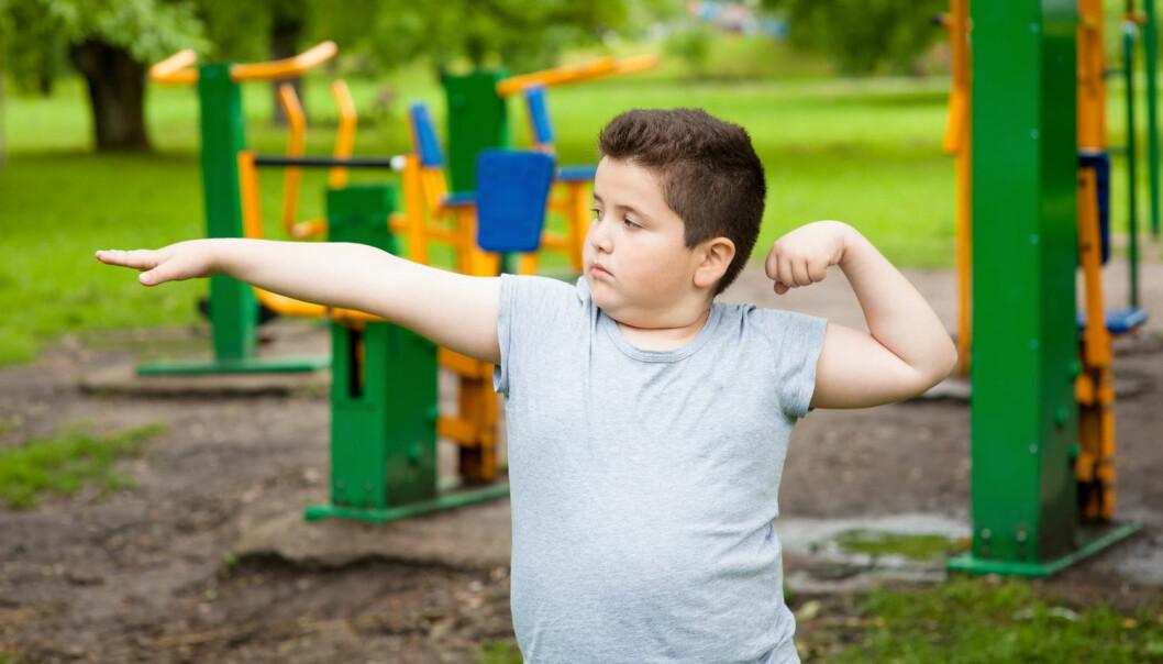 Skoleprogrammet skulle hindre barnefedme ved å legge til rette for et bedre kosthold og mer aktivitet. Resultatene viste at tiltaket ikke virket.  (Illustrasjonsfoto: Ruslan Shugushev / Shutterstock / NTB scanpix)