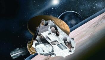 Romsonden New Horizons har siden 2006 satt mange rom-rekorder.  (Illustrasjon: NASA/Johns Hopkins University Applied Physics Laboratory/Southwest Research Institute)