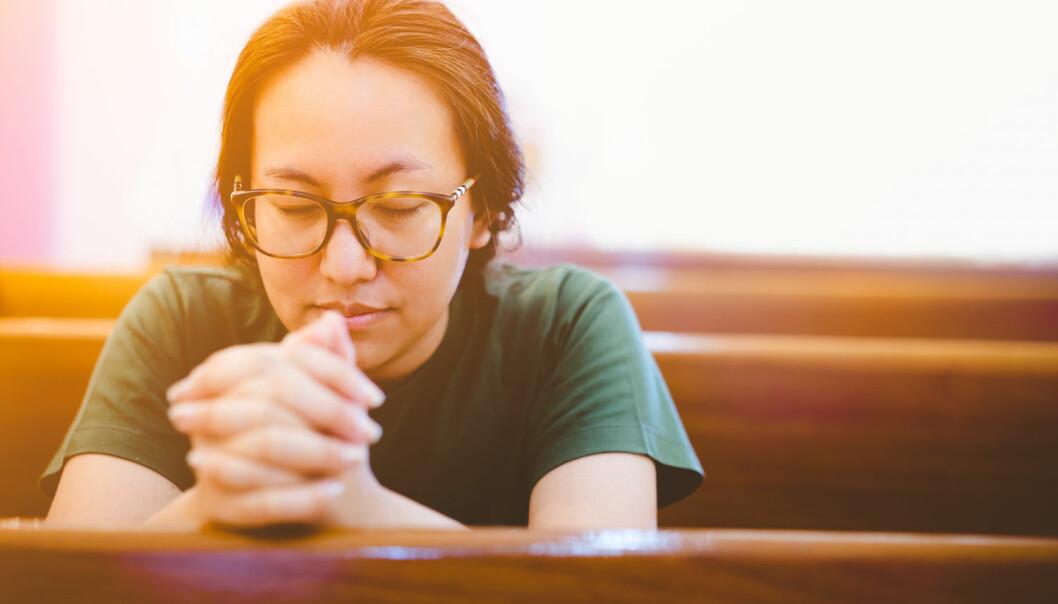 Kjære Gud, du som er i himmelen, hvorfor trenger vi deg egentlig?  (Foto: MIA Studio / Shutterstock / NTB scanpix)