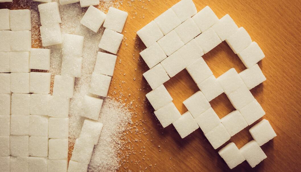 Lite tyder på at det er sukkerindustriens skyld at vi har sett på fett - og ikke sukker - som den store synderen, mener to forskere.  (Illustrasjonsfoto: Simon Kadula / Shutterstock / NTB scanpix)