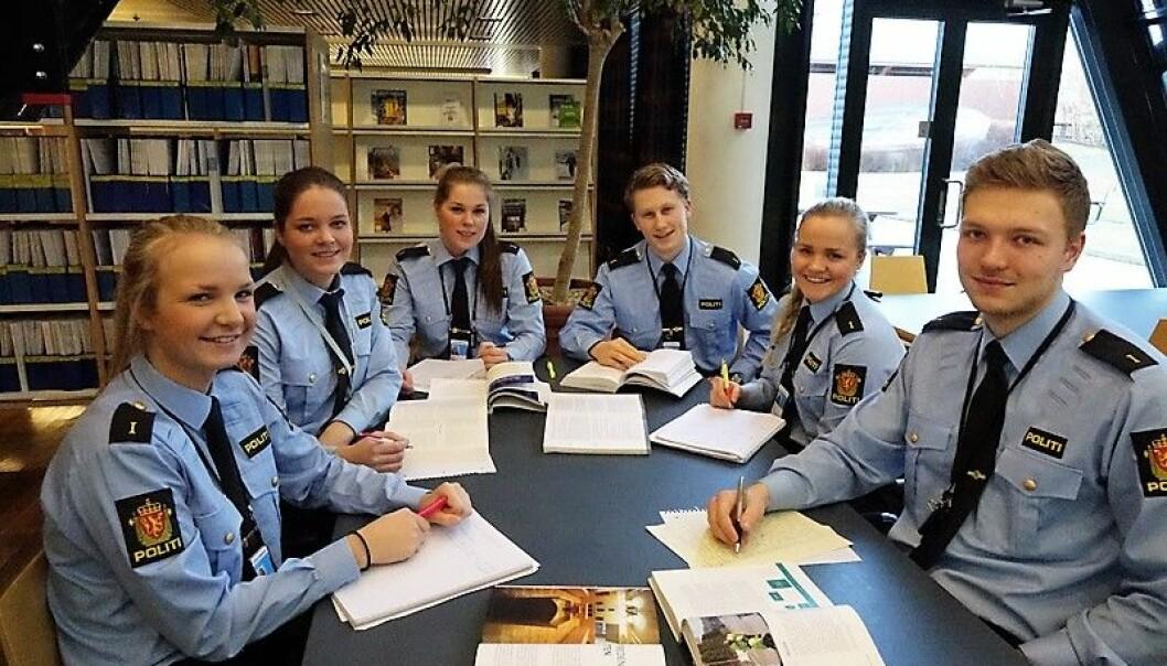 Framtidens studenter ved politihøyskolen kan få skolegangen i Groruddalen. (Illustrasjonsfoto: Politihøyskolen)
