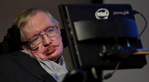 Nei, Stephen Hawking lager ikke et nytt revolusjonerende program som slår Bitcoin-markedet