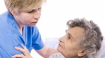 Svake tall for sykehjem på anbud