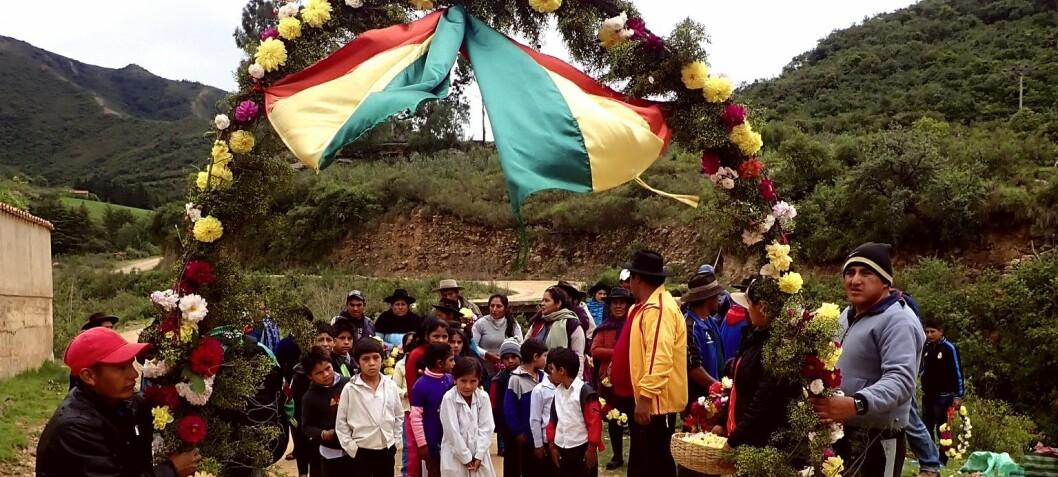 Hvordan norske studenter ble faddere for en boliviansk fotballbane