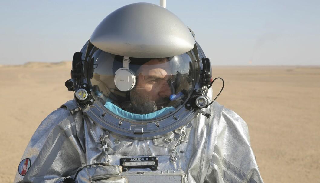 200 forskere fra 25 land trener på Mars-oppdrag i Omans ørken