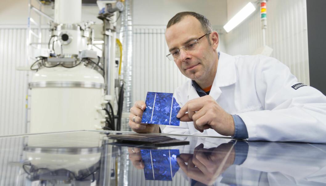 Skal gi husene våre innebygde solceller
