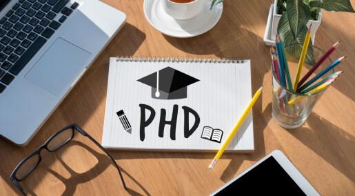 Her er de første doktorgradene fra offentlig sektor-ordningen