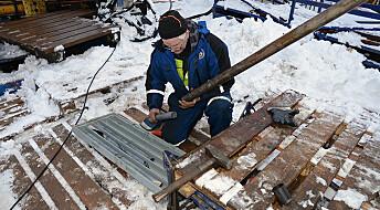 Jakter på sjeldne mineraler i norsk fjell