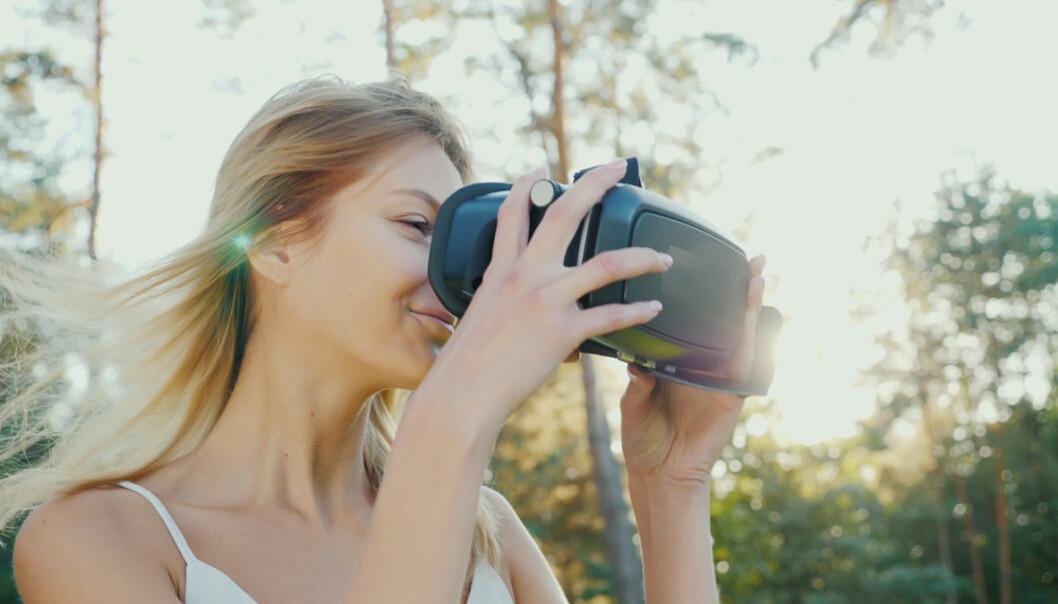 Virtuell virkelighet kan ikke hamle opp med naturen. Ikke nå, og kanskje ikke senere, heller. (Illustrasjonsfoto: Shutterstock)