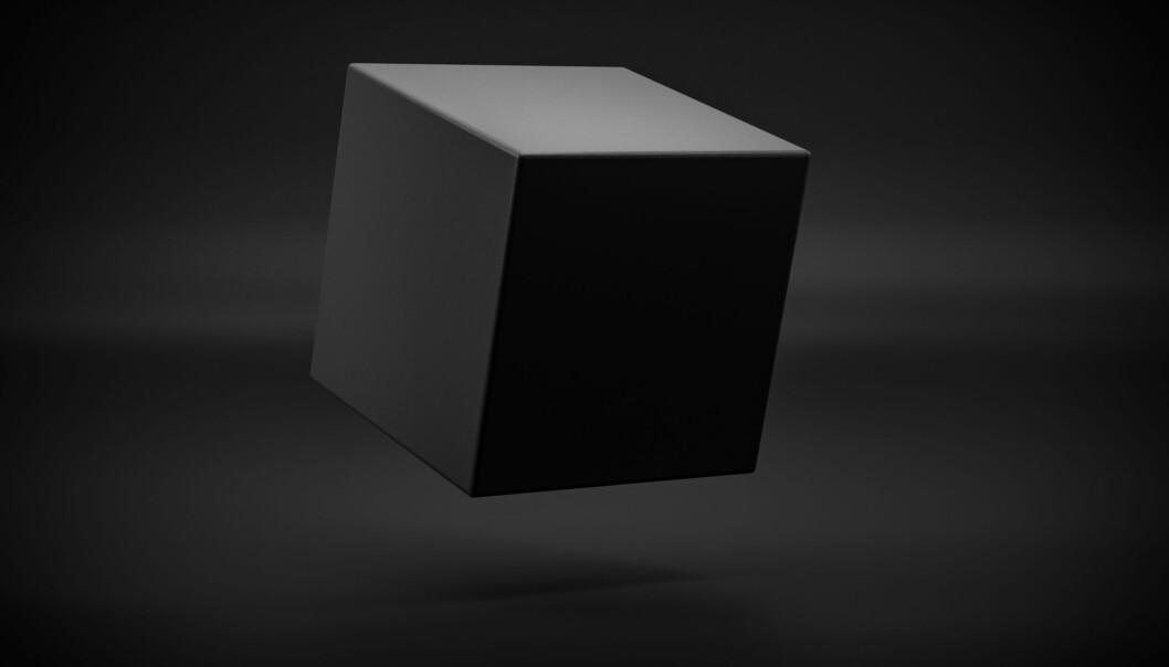 «Den sorte boksen» er en metafor for de utilgjengelige utregningene som kan oppstå i systemer for kunstig intelligens. (Foto: Chingraph / Shutterstock / NTB scanpix)