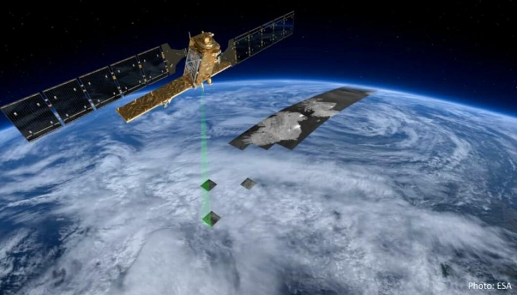 Ny tilgang til satellittdata gir forskerne bedre kunnskap om norske og europeiske elver. (Foto: European Space Agency, ESA)