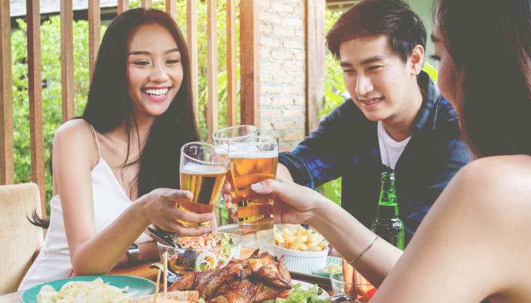 Hvorfor tåler ikke asiater alkohol?