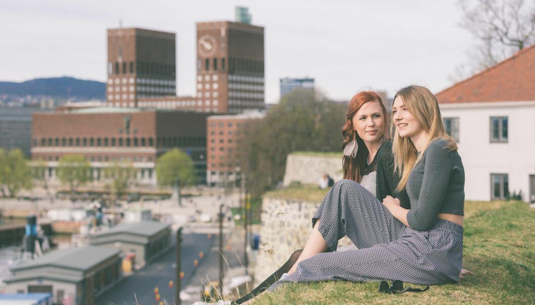 Jo tettere folk bor, jo mer fornøyde er de med nabolaget, viser to nye studier. (Illustrasjonsfoto: Shutterstock / NTB Scanpix)