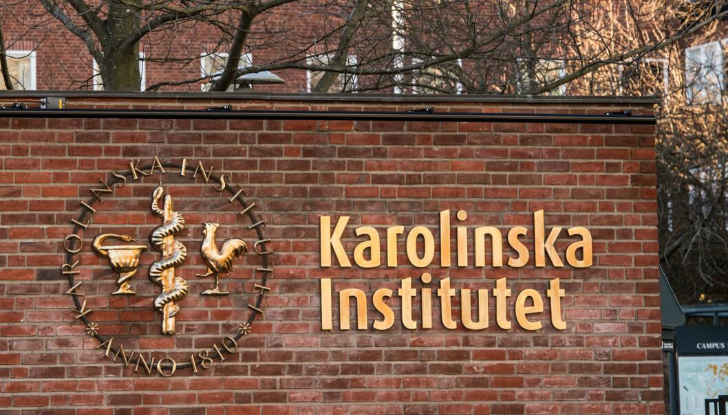 Ingen av de involverte forskerne er i dag ansatt ved Karolinska Institutet, og beslutningen får derfor ingen arbeidsrettslige konsekvenser. (Foto: Ulf Sirborn/Karolinska Institutet)