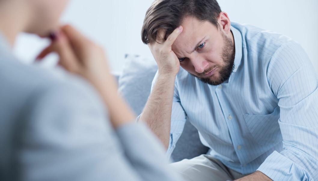 Det ligger alltid et personlig problem bak vold, mener psykolog Bente Lømo. – Mannen har opplevd noe som gjør at han lett føler seg angrepet. Derfor er det viktig at han får en mulighet til å jobbe med seg selv. (Illustrasjonsfoto: Shutterstock / NTB scanpix)