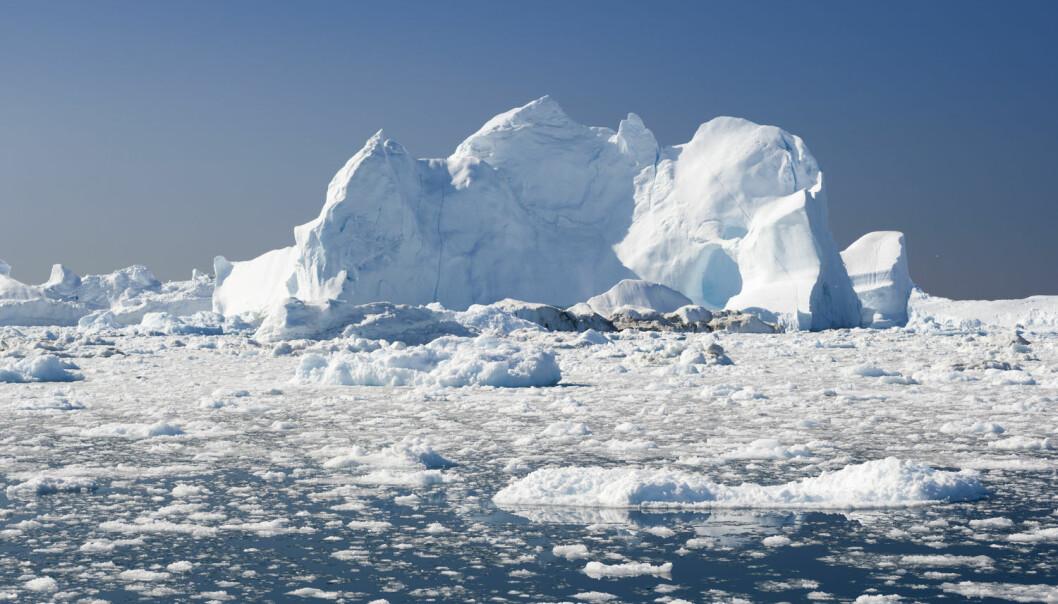 Mye av plasten i Arktis kommer fra andre steder på kloden med havstrømmer og vindstrømmer. Forsker mener det er urovekkende hvor mye mye plast det er i Arktis. (Foto: Shutterstock / NTB Scanpix)