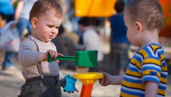 – Kartleggingen gir ikke bare et bilde på hva barnet forventes å mestre på det spesifikke alderstrinnet, men det gir også foreldrene informasjon om hva som er barnets neste utviklingstrinn og hva det kan begynne å strekke seg etter, forteller forsker. (Illustrasjonsfoto: Shutterstock / NTB Scanpix)