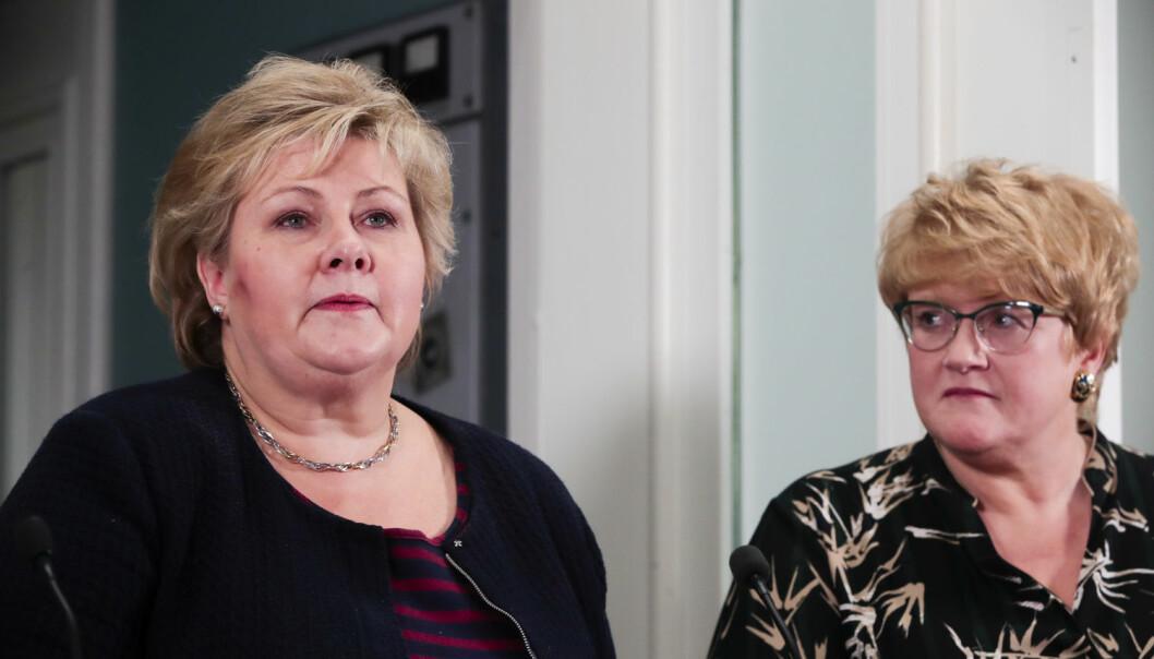 Den 14. januar ble det kjent at Venstre går inn i regjering med Høyre og Frp. Ett av kravene Trine Skei Grande og Venstre fikk gjennomslag for, er at det de neste fire årene ikke skal bli oljevirksomhet i havområdene utenfor Lofoten, Vesterålen og Senja.  (Foto: Lise Åserud / NTB scanpix)