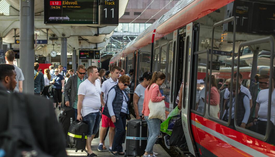 Norge presterer ikke godt når togkvaliteten i Europa sammenlignes. (Foto: Mads Kristiansen /NSB)