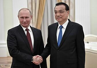 Vender Russland ryggen til Vesten?