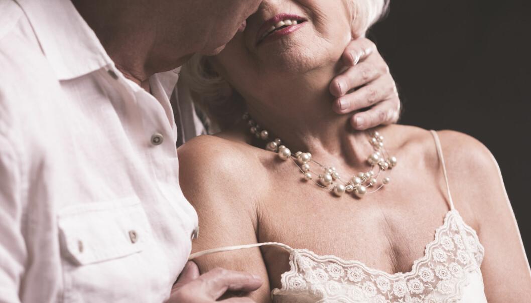 De færreste liker kanskje å tenke på det, men eldre har faktisk et ganske aktivt seksualliv. Det viser en ny undersøkelse som har sammenliknet seksuell aktivitet i fire ulike land. (Foto: Photographee.eu / Shutterstock / NTB scanpix)