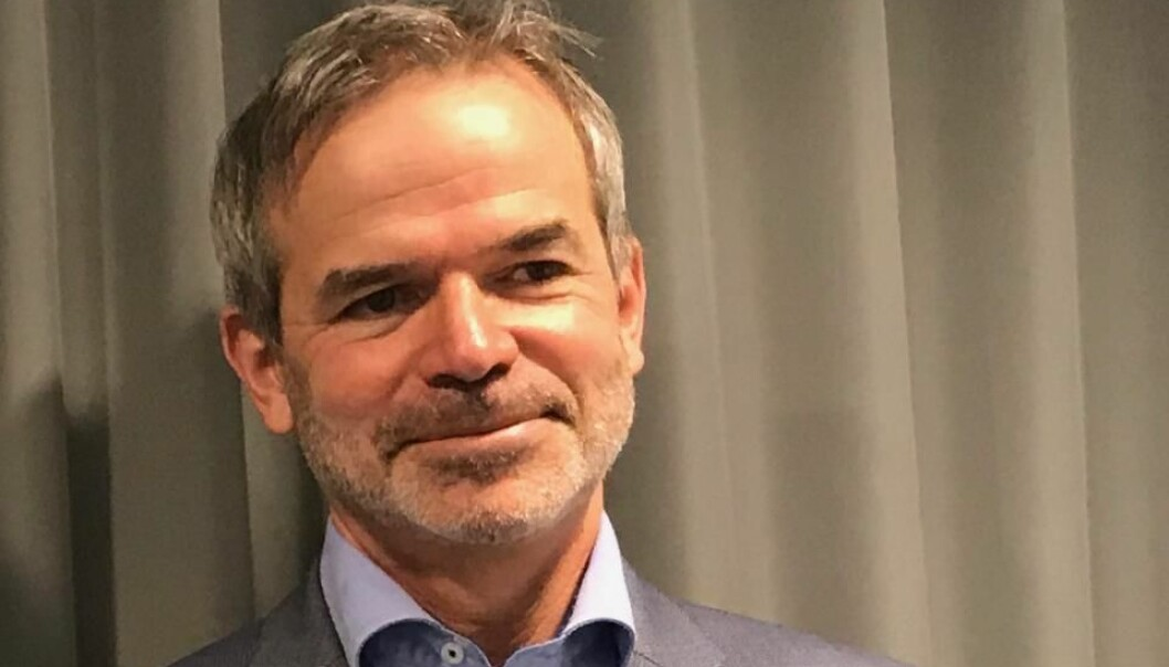 Christian Hauglie-Hansen blir ny direktør ved Norsk Romsenter.  Foto: Norsk Romsenter.